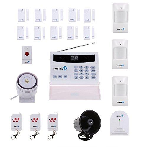 Sistema de alarma doméstico inalámbrico de fácil instalación