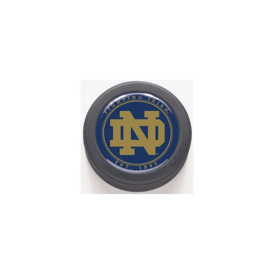 Notre Dame Fighting Irish Nd Logo Hockey Puck