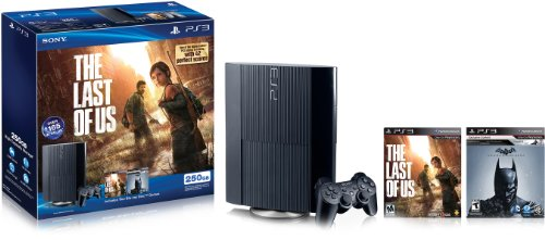 PlayStation 3 The Last of Us & Batman: Arkham Origins Bundle