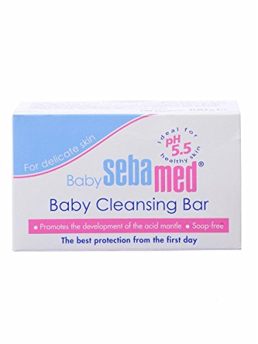 Sebamed Baby Cleansing Bar, 3.5 oz(100g)