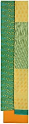 Monalisa Selection Women's Cotton Unstitched dress material (UP1014-MS, Green)