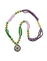 "Aakshi Necklace ""Multicolour Pearl Diamond & Flower Design"" Necklace"