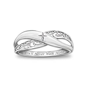 religious ring faith by the