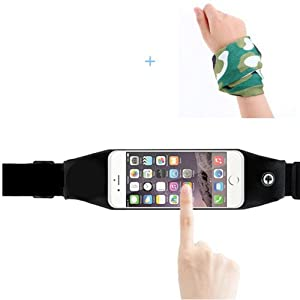 Joy Walker Running Belts Waist Fanny Pack for iPhone 6s/6s Plus Touch Screen - Workouts, Cycling, Hiking, Walking, Running, Fitness