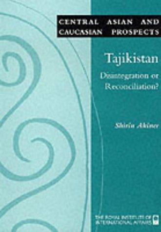 Asian caucasian central disintegration prospect reconciliation tajikistan