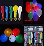 LED Light up Balloons Mixed Color Party Wedding Festival Decoration