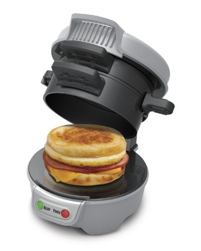 Hamilton Beach 25475 Breakfast Sandwich Maker, Gra