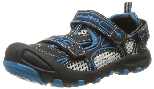 Kangaroos Baby Boys' Balou First Walking Shoes Black Noir (544 Black Blue) 29