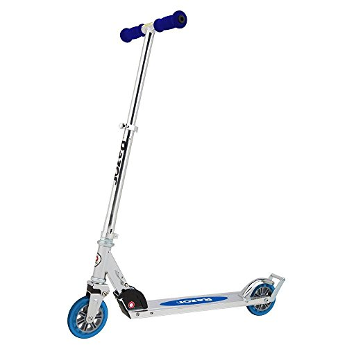 A Scooter in Blue