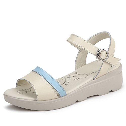 Sandals, Sandali donna, (C), Lunghezza 24.3 cm (9.6Inch)