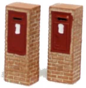 Hornby R8763 Skaledale 00 Gauge Letter Box x 2