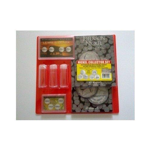 Jefferson Nickel Collector Storage Set