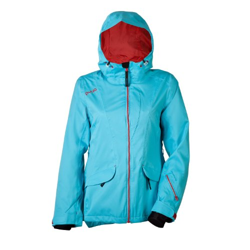 PYUA Damen Jacke Floated, blue atoll, 42, 500021-004