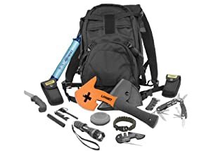 Lansky LTASK T.A.S.K. Tactical Apocalypse Survival Kit, Black by Lansky