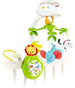 Amazon Com Fisher Price Deluxe Projection Mobile