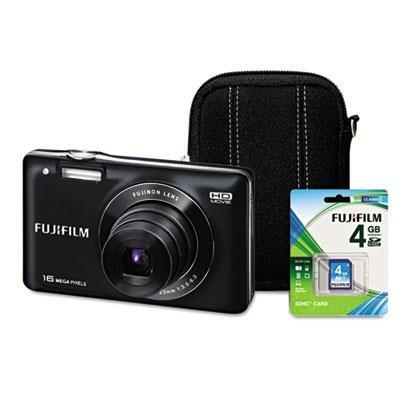 Fuji FinePix JX580 Digital Camera Bundle, 16