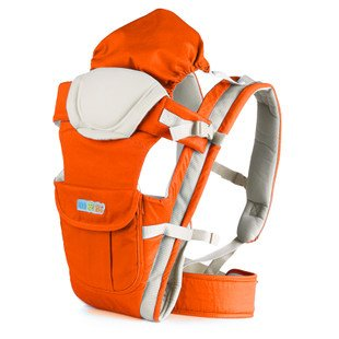 Happy Bear Baby Carrier, Baby Wrap #3009 (Orange) front-1027954