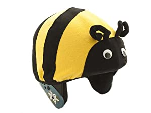 Bumble Bee Helmet Cover - One Size Fits All Kids Sports Helmets - For Bike,... by Tail Wags Helmet Covers