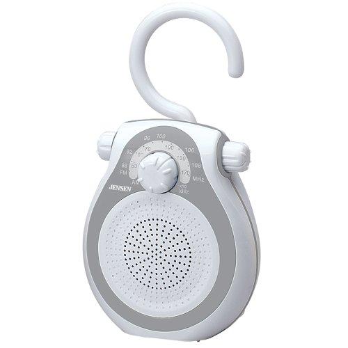 Jensen JWM-120 AM/FM Shower Radio