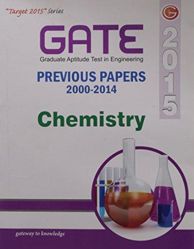 GATE Solved Paper Chemistry 2015