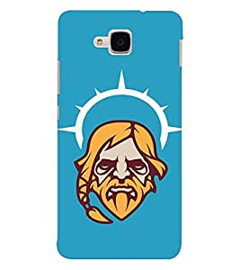 EPICCASE Jesus the saviour Mobile Back Case Cover For Huawei Honor 5c (Designer Case)