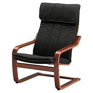 Amazon.com: Ikea Poang Chair Armchair with Cushion, Cover ...