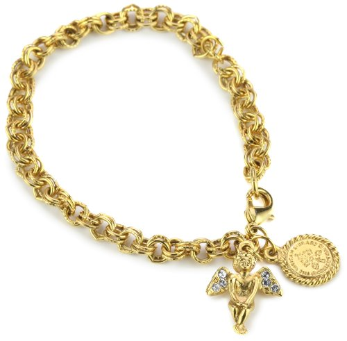 The Vatican Library Collection Sweet Cherub Charm Bracelet