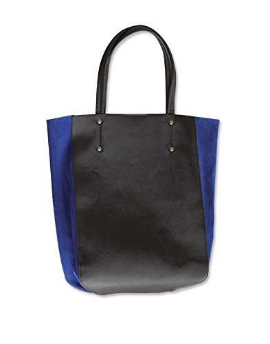 Orvis Women's Vegan-leather & Suede Colorblocked Tote / Vegan-leather & Suede Colorblocked Tote