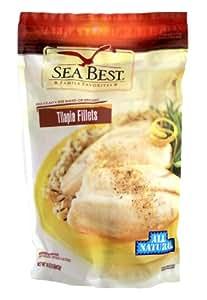 Sea best all natural tilapia fillets 16 for Best frozen fish fillets