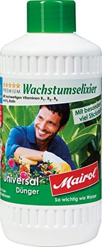 Mairol Universal-Dünger Liquid für alle Grün- und Blühpflanzen, 2er Pack (2 x 500 ml)