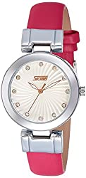 Skmei Analog Multi-Colour Dial Womens Watch - 9086HS
