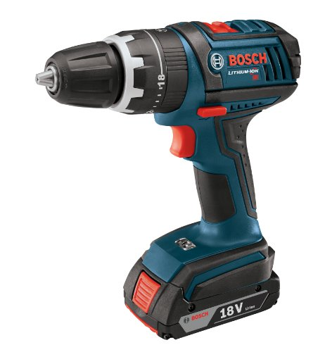 bosch 18 volt hammer drill driver with 2 slim pack hc. Black Bedroom Furniture Sets. Home Design Ideas