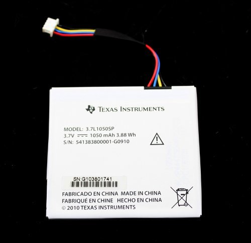 new-37l1050sp-37v-1050mah-battery-for-texas-instruments-ti-nspire-cx-cas-by-texas-instruments