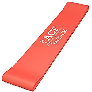 ACF Exercise Bands - Resistance Loop Bands for Fitness and Stretching Workouts