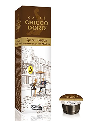 Choose 40 Caffè Chicco d'Oro Special Edition Capsules: Wild Coffee MONORIGINE CAFFÈ INDIA + ESPRESSO BAR 100% ARABICA by Caffè Chicco d'Oro