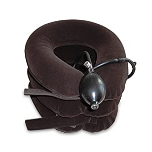 Amazon Com Cervical Neck Traction Device For Head