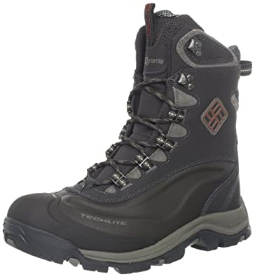 Columbia Men's Bugaboot Plus II Omni-Heat Snow Boot,Stout/Cedar,8 M US