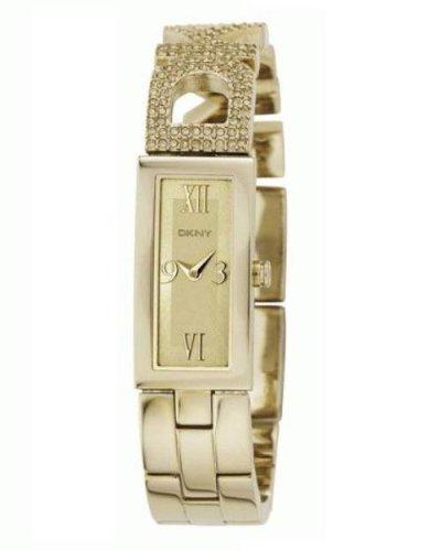 DKNY NY4514 - Orologio da polso da uomo, cinturino in acciaio inox colore oro