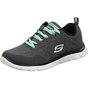 Skechers Damen Schuhe Flex Appeal Sweet Spot 11729 42 charcoal/black
