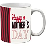 MeSleep Ceramic White Happy Mother's Day Mug, 330 Ml