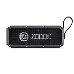 Zoook Rocker Armor XL (30W) Bluetooth Speaker with Twin Bass Radiators and 4400 mah Battery (Black)