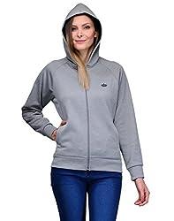 Aspasia Women Polyester Jacket (AJ004_L_Multi-color_Multi-color_Large)