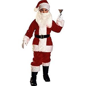Small Children's Plush Santa Suit
