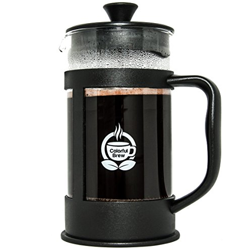 French-Press-Coffee-Maker-Large-Brewer-Makes-34oz-4-cups-of-Coffee-Made-with-a-Strong-and-Thick-Glass-Carafe