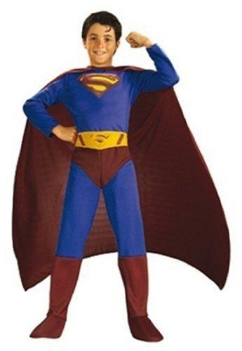 Rubie's Costume Superman Abito Carnevale, S, 3-4 Anni