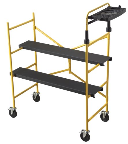 Buy TriCam 4-Foot Portable Scaffold with Tray SCD-04-T (Tricam Building Supplies,Home & Garden, Home Improvement, Categories, Building Supplies & Heavy Equipment, Ladders & Scaffolding, Scaffolding, Mobile Platforms)