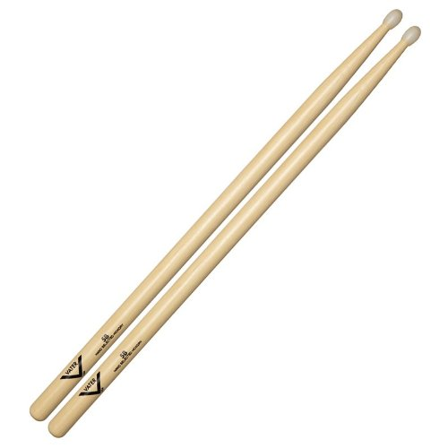 Vater Percussion 5B Drumsticks, Nylon Tip