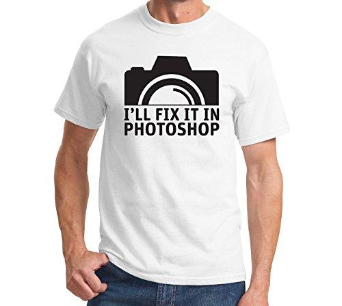 snoogg-fix-it-in-photoshop-lassige-slogan-printed-lustige-humor-t-shirts-mit-rundhalsausschnitt-kurz