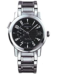 Zenith Port Royal V Dual Time Men's Automatic Watch 02-0451-682-22-M451