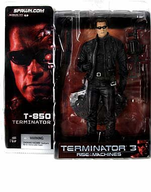 T 850 Terminator T3: Rise of the Machines : T-850 Terminator Action Figure | Toys and ...